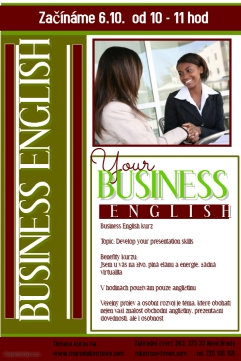Business english kurz letak